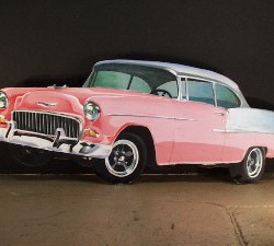 1010 Pink Chevy