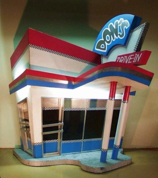 50s Drive-In 3D
