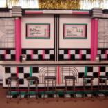 1034 B Fifties Soda Shop Counter