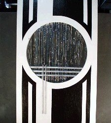 1049 Art Deco Panel Circle Cutout
