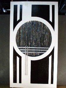 1049 Art Deco Panel Circle Cutout