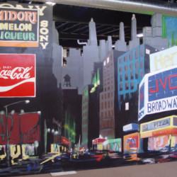 1071 Broadway Skyline Cutout Panels