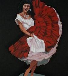 1115 Mexican Senorita Figure