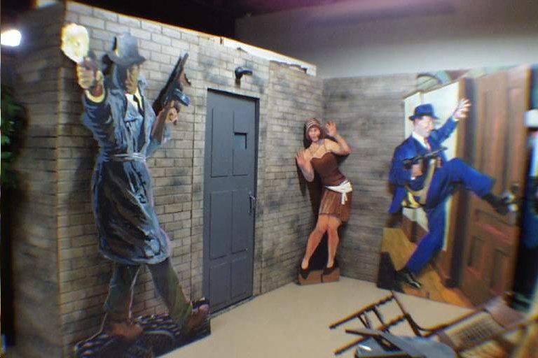 Speakeasy Facade with Door ... & Speakeasy Facade with Door u0026 Brick Side Panels (#1300) - Props ...