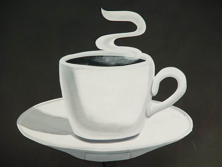 Oversized Coffee Cup Cutout 2692