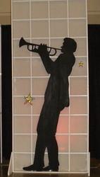 musician silhouette
