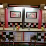 1034 E Fifties Soda Shop Counter