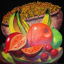 1374 tropical fruit panel