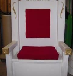 3171 Santa throne