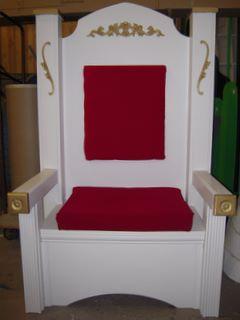 Santa Throne 3171 Props Unlimited Events Llc