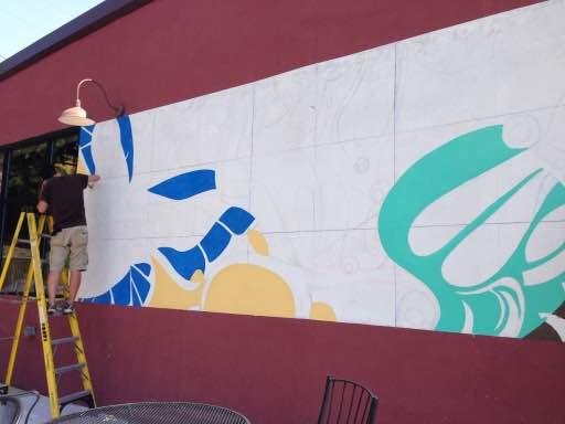 custom mural work