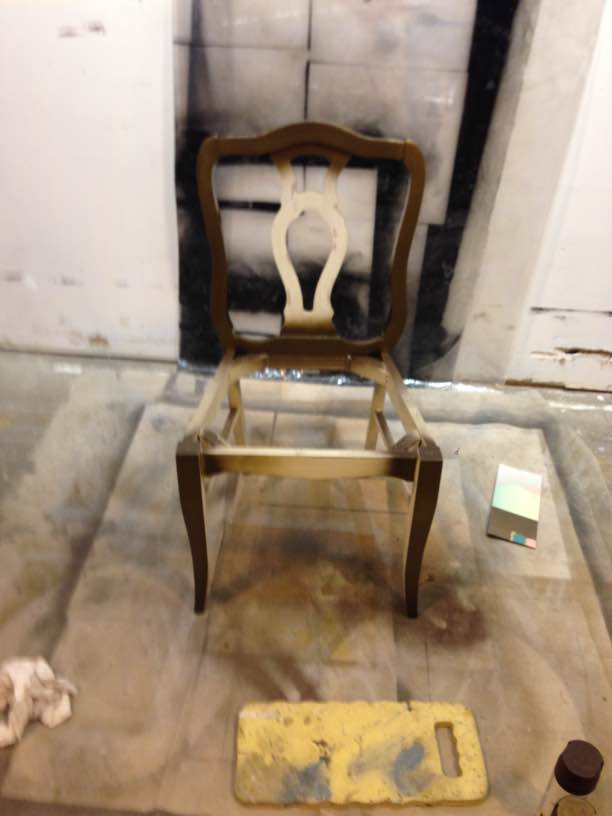 in progress custom design chair frame